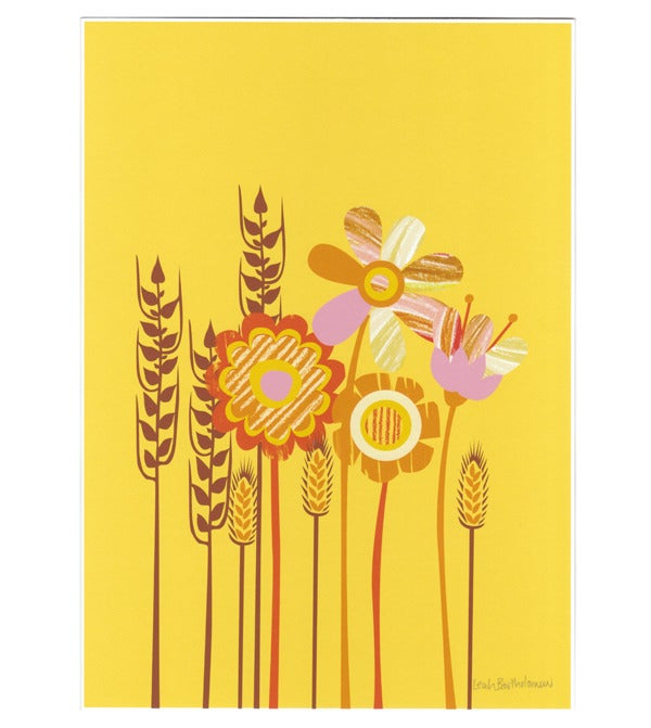 Image of In The Fields Art Print