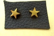 Image of VINTAGE STAR stud earrings