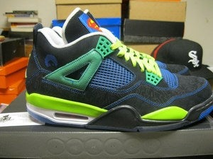 "Image of Isiah's Air Jordan IV (4) Retro ""Doernbecher Charity"" *SOLD OUT*"