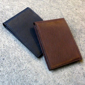 Image of Johnny Farah front pocket wallet - forest <s>$125.00</s>