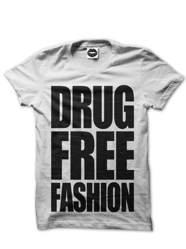 Image of Drug Free Fashion (White)