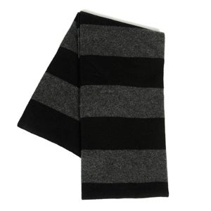 Image of Blue Tree Cashmere Striped Scarf