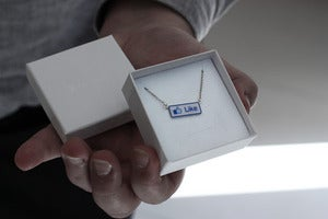 Image of Facebook Like Necklace