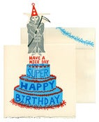 Image of Grim Reaper Pop Up Birthday Card ♥ SOLD OUT! ♥