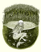Image of Screen Print - &quot;Thing In The Lagoon&quot;