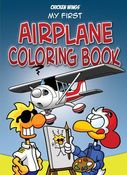 Image of My First Airplane Coloring Book