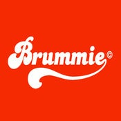 Image of Retro Brummie Design - Red, available as Tee Shirt and Poster