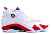 Image of Air Jordan Retro 14 - White/Red
