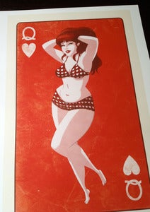 Image of The Queen Of Hearts