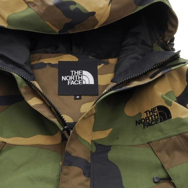 Image of Japanese Northface Novelty Scoop Camo