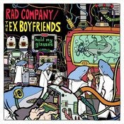 Image of RGF-002 The Ex-Boyfriends/Rad Company &quot;Hold My Glasses&quot; Split LP 