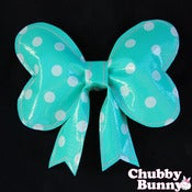 Image of Dotty Dot Bow - Mint