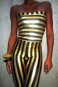 Image of 2-WAY STRIPE JUMPSUIT
