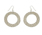 Image of Disco Hoop Earring