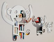 Image of Shatterproof Monkey Family Mirrors