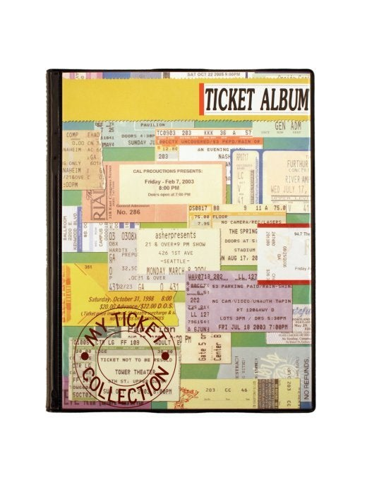 Image of Concert Ticket Album