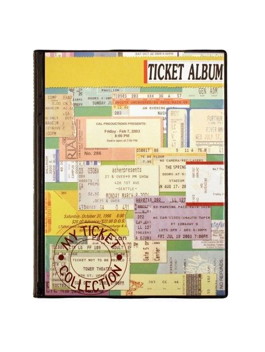 ticket albums original ticket albums. Black Bedroom Furniture Sets. Home Design Ideas