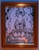 Image of the music maker drawing by barrie j davies 2010 (framed)