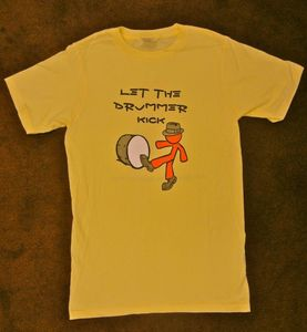 Image of Let the Drummer Kick - Children's Tee