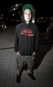 Image of Chi-City Hoodie Black