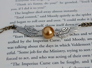 Image of Winged Golden Ball Bracelet