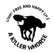 Image of Killer Whorse t-shirt LIMITED EDITION