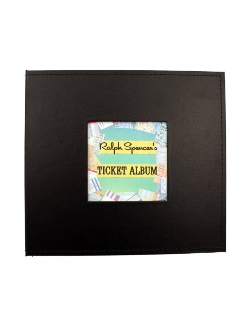 Image of Custom Deluxe Ticket Album