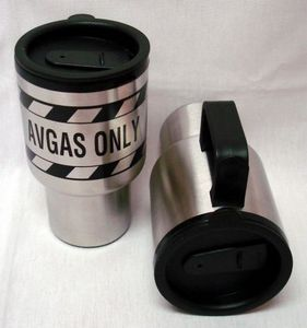 "Image of ""AVGAS ONLY"" Coffee Mug"