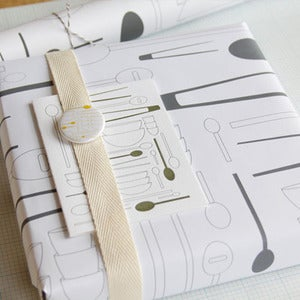Image of Utensils Gift Wrap