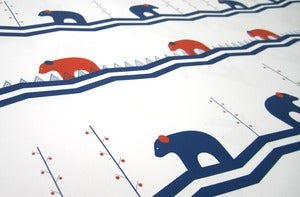 Image of Blissful Bears Gift Wrap