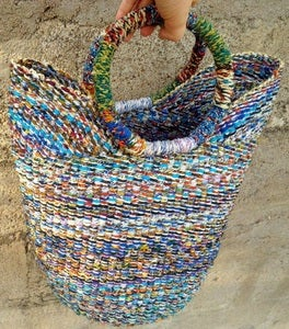 Image of Recycled Bolga Basket Medium