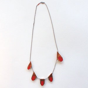 Image of Finger Tipped Necklace