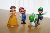 Image of Mario figures