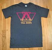 Image of Tall Ships charcoal t-shirt