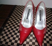 Image of Chinese Laundry Red Pumps