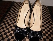 Image of Jonathan Martin Patent Leather Peep Toe