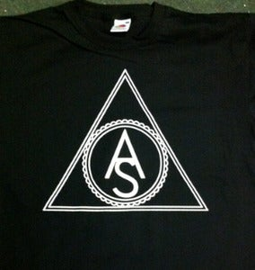 Image of Triangle Logo Shirt - Black