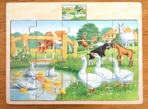 Image of PUZZLE EN BOIS POUR TOUS PETITS REF.833