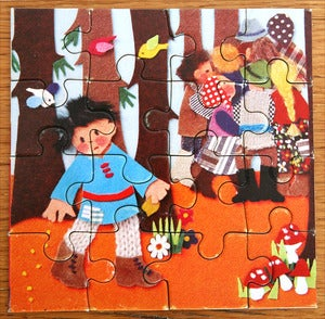 Image of PUZZLE VINTAGE PETIT POUCET REF.831