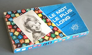 Image of JEU LE MOT LE PLUS LONG 1966 REF.835