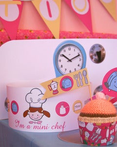 Image of Pink Girl Mini Chef Collection