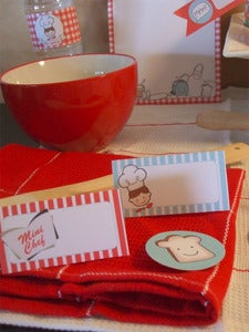 Image of Red Boy Mini Chef Collection