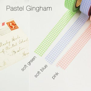 Image of mTape Gingham Washi Tape