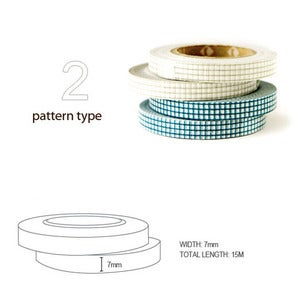 Image of mTape Grid Washi Tape