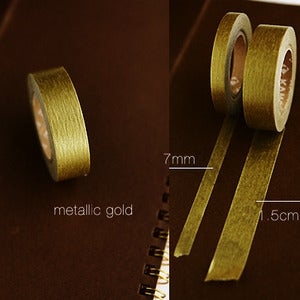 Image of mTape Gold & Silver Washi Tape