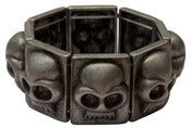 Image of Skull Block Bracelet