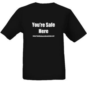 Image of You're Safe Here T Shirt
