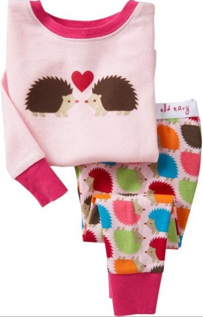 Image of Porcupine Love - Kids PJ's
