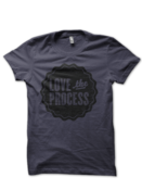 Image of LOVE the PROCESS Shirt - Asphalt