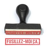 Image of Fusillez-moi a.